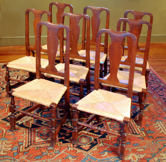 Set of Queen Ann Chairs